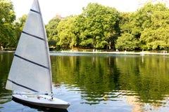 Agua conservadora en Central Park, NYC Fotos de archivo
