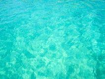 Agua cristalina fotografía de archivo