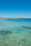Agua cristalina en una playa tropical Fotografía de archivo