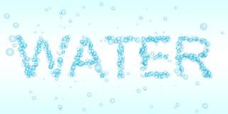 Agua de burbujas Imagen de archivo libre de regalías