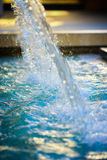 Agua de caída Fotografía de archivo