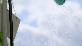 Agua de colada de la poder de riego metrajes