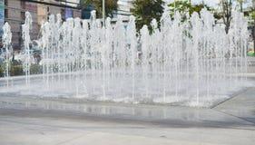 Agua de la fuente foto de archivo libre de regalías