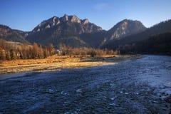 Agua de la montaña Imágenes de archivo libres de regalías