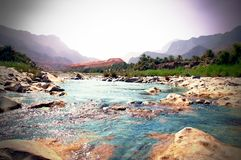 Agua de la montaña Imagen de archivo