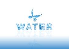 Agua de la muestra Foto de archivo