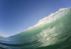 Agua de la natación de la onda Foto de archivo libre de regalías