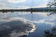 Agua de la nube Fotos de archivo libres de regalías