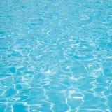 Agua de la piscina Imágenes de archivo libres de regalías