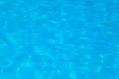 Agua de la piscina Imagenes de archivo