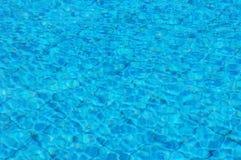 Agua de la piscina Fotografía de archivo