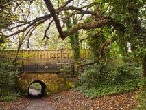 Agua de Leith Walkway Imagen de archivo libre de regalías