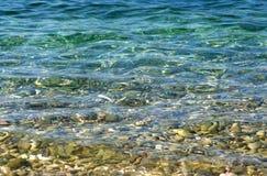 Agua de mar. Foto de archivo libre de regalías