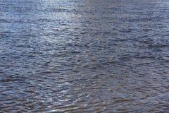 Agua de mar azul de la textura Fotos de archivo libres de regalías