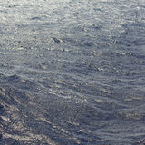 Agua de mar azul de la textura Foto de archivo libre de regalías