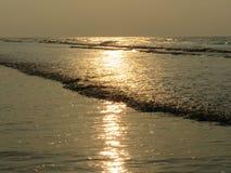 Agua de mar brillante fotografía de archivo libre de regalías