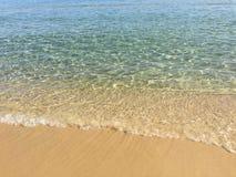 Agua de mar cristalina Imagenes de archivo