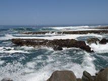 Agua de mar de Iquique Foto de archivo libre de regalías
