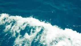 Agua de mar de la espuma del mar almacen de metraje de vídeo
