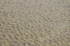 Agua de Sandy Fotos de archivo libres de regalías