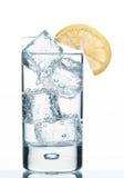 Agua de Sprakling Imagenes de archivo