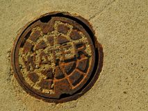 Agua de Water/No Imágenes de archivo libres de regalías