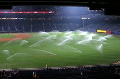 Agua del béisbol Imagen de archivo libre de regalías