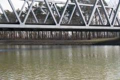 Agua del canal Fotos de archivo