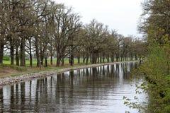 Agua del canal Fotografía de archivo
