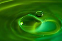 Agua del chapoteo Imagen de archivo