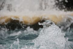 Agua del chapoteo Foto de archivo