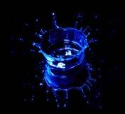Agua del chapoteo Fotos de archivo libres de regalías