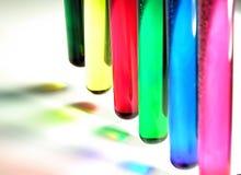 Agua del color Fotos de archivo libres de regalías