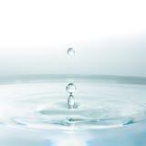 Agua del descenso Fotografía de archivo libre de regalías