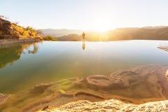 Agua del EL de Hierve Foto de archivo libre de regalías