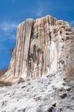 Agua del EL de Hierve, cascada aterrorizada en Oaxaca Fotografía de archivo libre de regalías