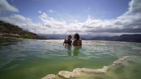 Agua del EL de México Hierve almacen de metraje de vídeo