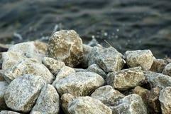 Agua del lago Foto de archivo libre de regalías