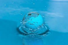 Agua del mundo Imagen de archivo libre de regalías