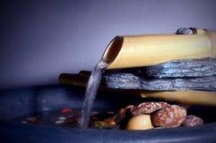 Agua del zen imagenes de archivo