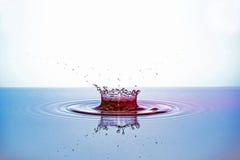 Agua-descensos Foto de archivo libre de regalías