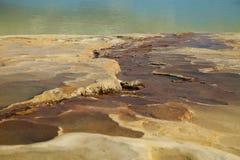Agua do EL de Hierve no estado de oaxaca, México Foto de Stock