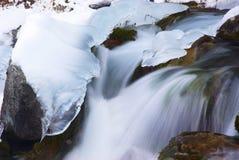 Agua e hielo Imagen de archivo libre de regalías