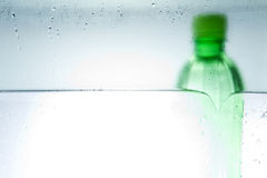 Agua embotellada fría Fotografía de archivo