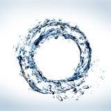 Agua en círculo Fotos de archivo libres de regalías