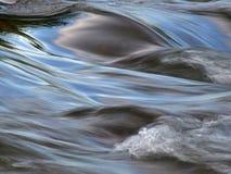 Agua en el movimiento Fotografía de archivo libre de regalías