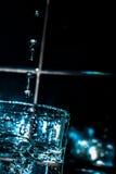 Agua en el vidrio Fotos de archivo libres de regalías