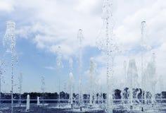 Agua en la fuente Imagen de archivo