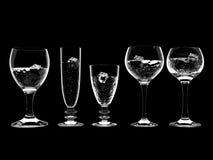 Agua en vidrio Imagen de archivo