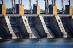 Agua, energía eléctrica Fotografía de archivo libre de regalías